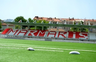 Marmaris Şehir Stadyumu İçin Son Hazırlıklar...