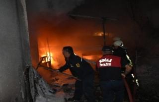 Marmaris'teki Yangın Korkuttu!