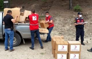 Muğla'da Kızılay'dan 3 Bin Aileye Yardım