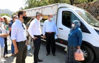 Başkan Oktay, Marmaris'te Depremlerinin Merkezi...
