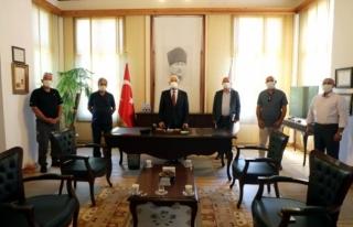 Başkan Osman Gürün'e Teşekkür Ziyareti