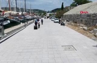 Bodrum Limanı'nda Son Dokunuşlar Yapılıyor
