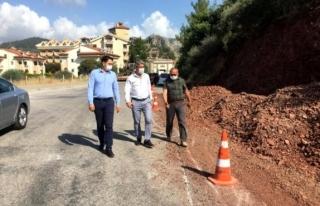 Marmaris Belediyesi Yol Yapım Çalışmalarına Hız...
