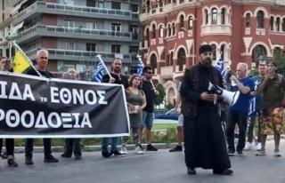 Dışişleri'nden Selanik'te Türk Bayrağının...