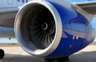 Milas'ta, Bir Uçakta Kalkış Sırasında Motor...