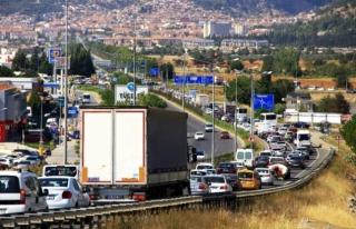 Muğla'da Araç Sayısı Nüfusun Yarısını...