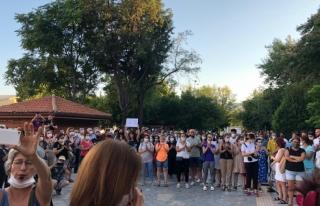 Muğla'da Kadınlar Pınar Gültekin için Eylem...