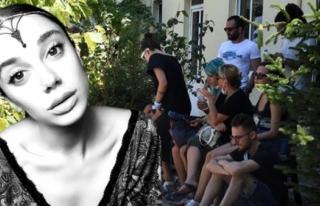 Pınar Gültekin'in Ailesi Muğla Adli Tıp Önünde...