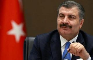 Sağlık Bakanı Fahrettin Koca, Vatandaşları Kalabalığa...