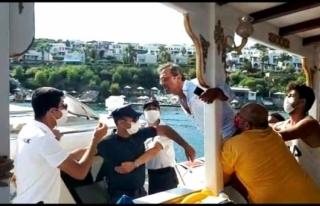 Bodrum'da, Tur Teknesine Fazla Yolcu Alınınca...