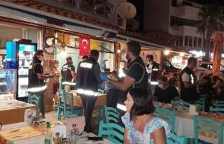 Datça'da 100 Polisle Operasyon: 678 Kişi Sorgulandı!