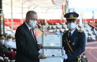 Hava Harp Okulu Birincisi Muğlalı Teğmen Diplomasını...