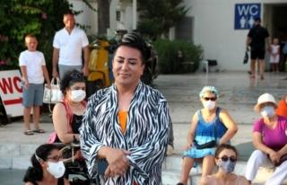 Murat Övüç Bodrum'da Eylemci Kadınlar Tarafından...