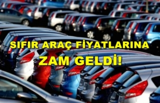Sıfır Araç Fiyatlarına Ağustos Ayında 7 Bin...