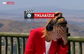 TRT Haber Spikeri Nilgün Balkaç Canlı Yayında...