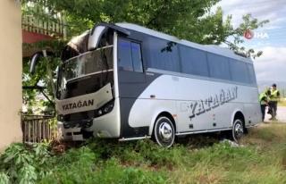 Yatağan'a Giden Yolcu Otobüsü Isparta'da...