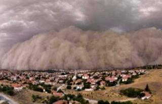 Ankara'da Kum Fırtınası! O İlçe Karanlığa...