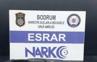 Bodrum'da 3 Kilo 750 Gram Uyuşturucu Ele Geçirildi
