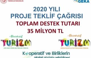 GEKA 2020 Yılı Proje Teklif Çağrısı Toplam Bütçe...