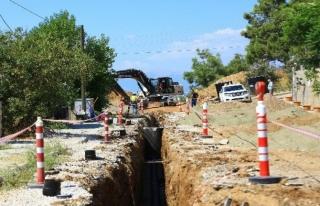 Hisarönü-Ovacık Kanalizasyon Hat Çalışmaları...