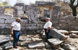 Marmaris'te Phoenix Antik Kenti Ayağa Kaldırılıyor