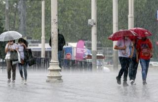 Meteoroloji'den 13 İl İçin Sağanak Yağış...