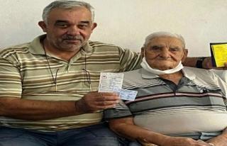 Milas'ta 90 Yaşındaki Avcıya Teşekkür Plaketi...