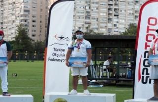 Muğla Büyükşehir Okçusu Türkiye Şampiyonu