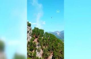 Muğla'da Çıkan Orman Yangını Kontrol Altına...