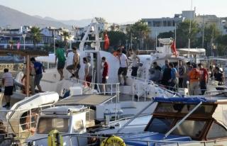 Muğla'da Korona Yasaklarına Uymayan Tekne Sahiplerine...