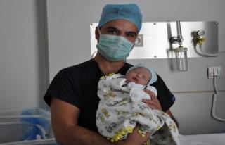 Yeni Milas Devlet Hastanesi'nde İlk Doğum!