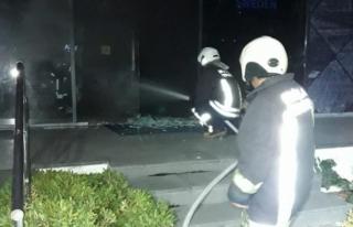 Bodrum'da İş Yerinde Çıkan Yangın Hasara...