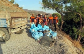 Datça'da Seyir Tepesi Pırıl Pırıl Oldu