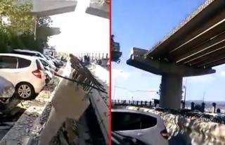 İzmir'de Meydana Gelen Depremde Viyadük Yıkıldı