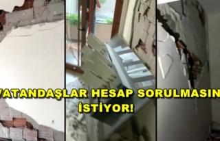 İzmir'deki Depremde Yeni Binalar da Yıkıldı!
