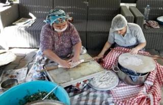 Muğla'da Huzurevinde Hasat Şenliği