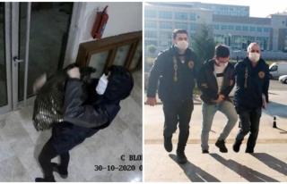 Ayakkabı Hırsızı Önce Kameraya Ardından Polise...