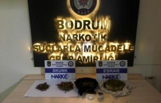 Bodrum'da 2 Uyuşturucu Tüccarı Kovalamaca...