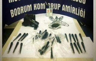 Bodrum'daki Uyuşturucu Ticareti Operasyonunda...