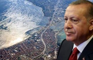 Erdoğan'dan Kanal İstanbul Açıklaması: Yatırımlarda...
