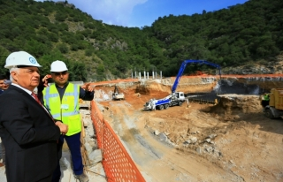 Fethiye'de Kanalizasyonun 40 Kilometresi Tamamlandı