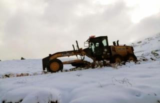 Muğla'da Kar İle Mücadele Başladı