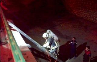 Seydikemer'de Kanala Düşen Keçi Kurtarıldı