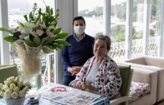 Başkan Aras'tan Fatma Girik'e Doğum Günü...
