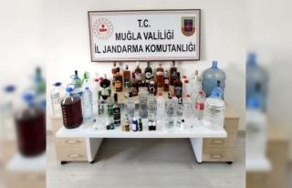 Bodrum'da Kaçak İçki Operasyonu