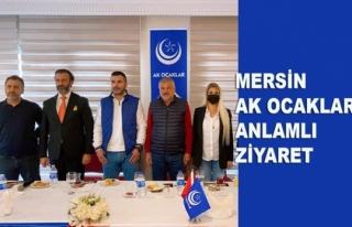 Bora Toprak ve Aydın Daş'tan Mersin Ak Ocaklar'a...