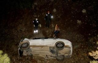 Fethiye'de Kaza Yapan Alkollü Kadın Ekiplere...