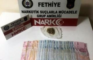 Fethiye'de Uyuşturucu Operasyonu