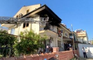 Fethiye'deki Bir Evde Çıkan Yangında Bir Vatandaşımız...
