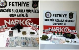 Fethiyede Uyuşturucu Operasyonu